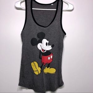 Disney Mickey Mouse Tank Top Size Small